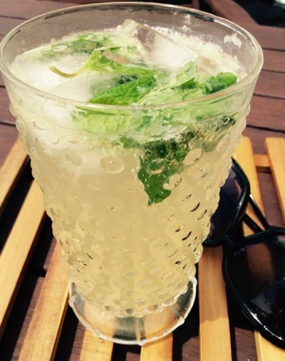Fizzy Lime-Mint Quencher