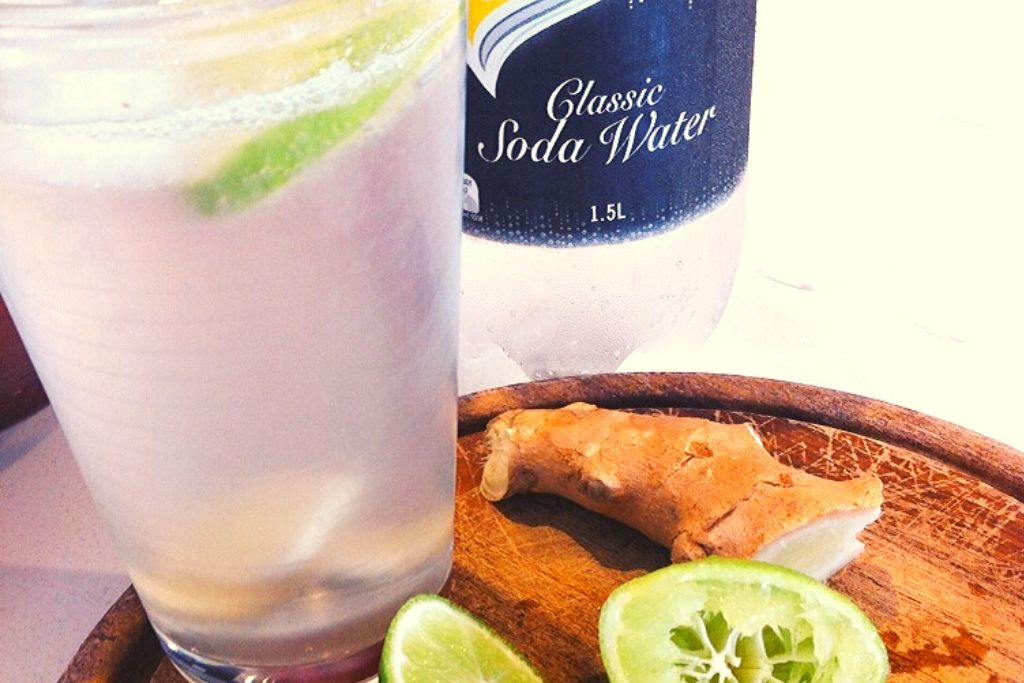 Soda, lime & ginger