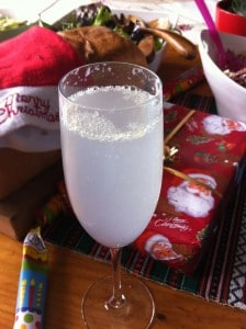 Non-Alcoholic French 75 Mocktail