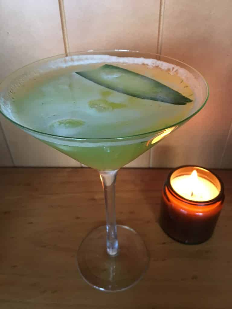 Cucumber Citrus Mocktail