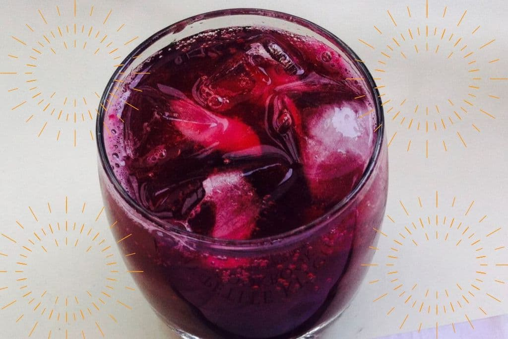 Blueberry & Honey Sparkling Lemonade