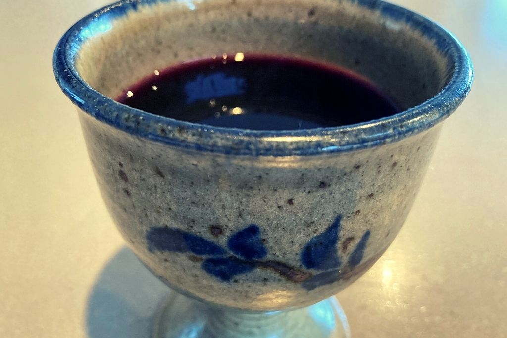 Warm Spiced Grape Juice