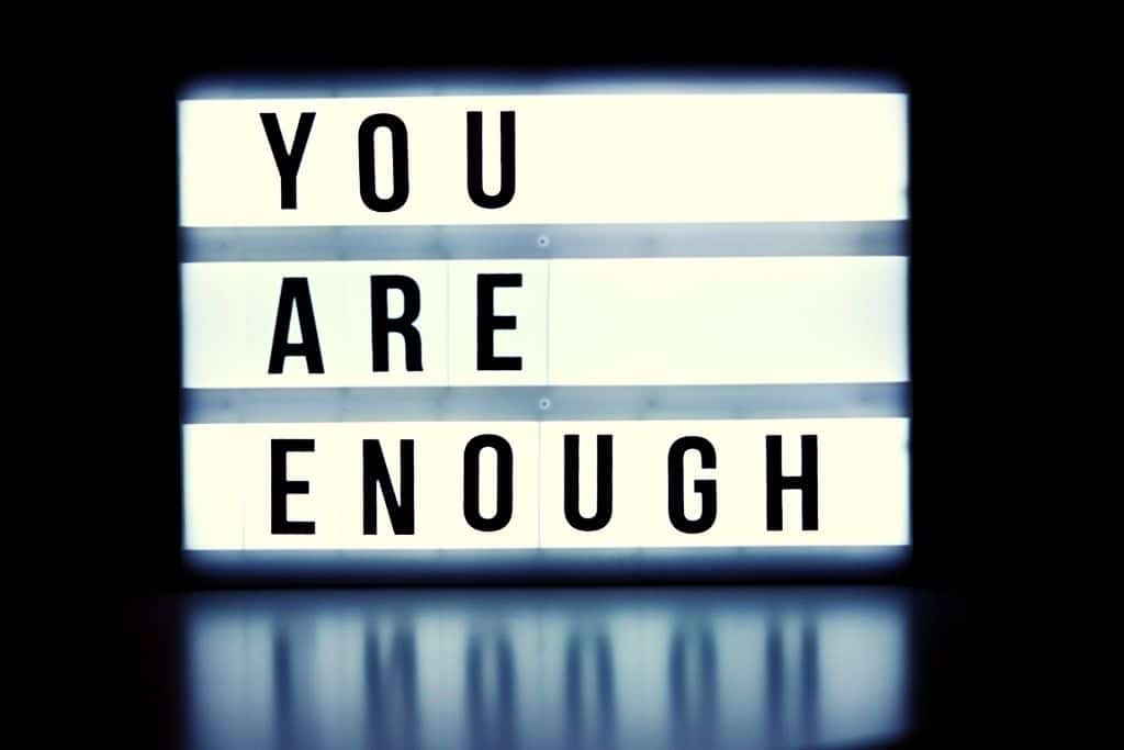 You are enough (Guest Post)